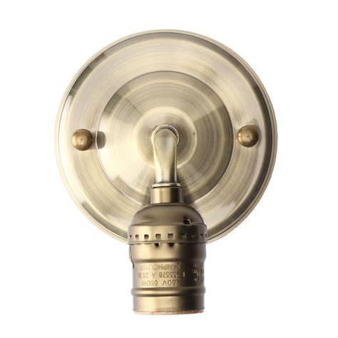 e27 antique vintage wall light simple design sconce l