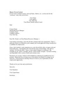A Cover Letter Exle Cover Letter Exles For 3 Free Templates In Pdf Word Excel