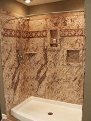 sentrel shower tub wall panels  glamorous