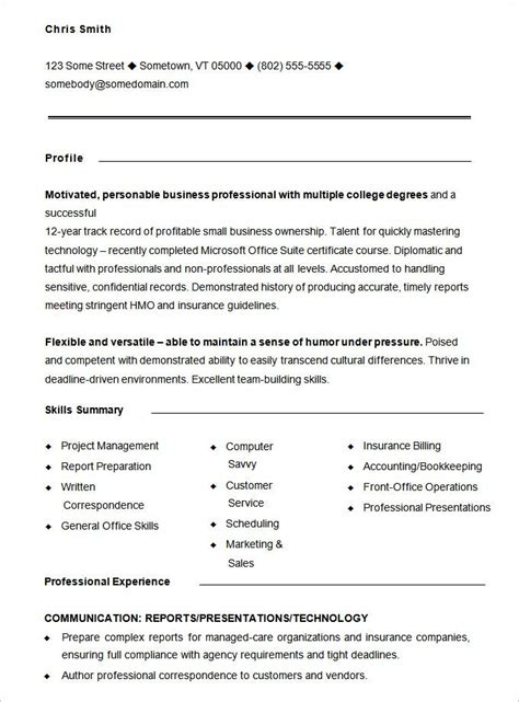 Free Resume Templates Pdf by 10 Functional Resume Templates Free Printable Word