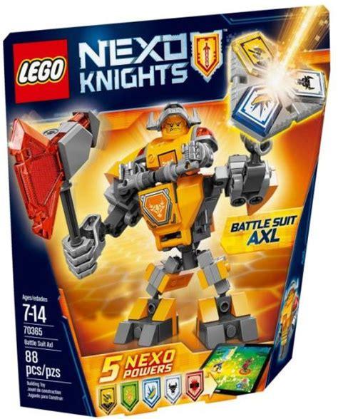 Vásárlás: LEGO Nexo Knights - Axl harci öltözéke (70365) LEGO árak összehasonlítása, Nexo ...
