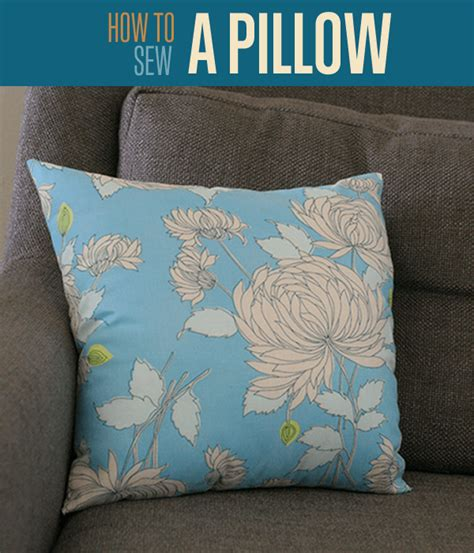 how to sew pillow covers how to sew a pillow throw pillow covers