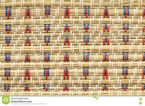 Japanese Tatami Mat Decoration Texture Background Stock