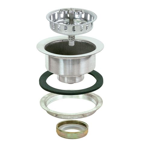 duostrainer 4 1 2 in sink strainer with tailpiece in