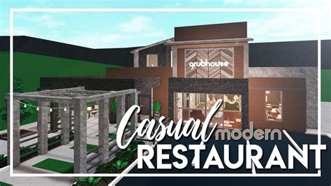 Welcome to bloxburg cafe picture id s. Welcome to Bloxburg: Casual Modern Restaurant - YouTube