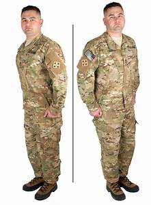 Militär kläder
