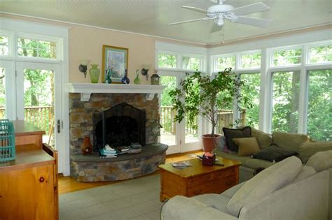 sunrooms with fireplaces 1000 images about sunroom with fireplace on pinterest