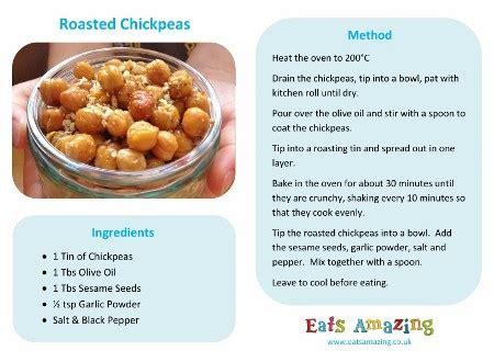 easy recipes  kids roasted chickpeas