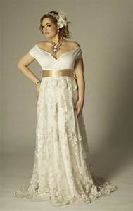 plus size dresses sleeves pluslookeu collection With second marriage wedding dresses plus size