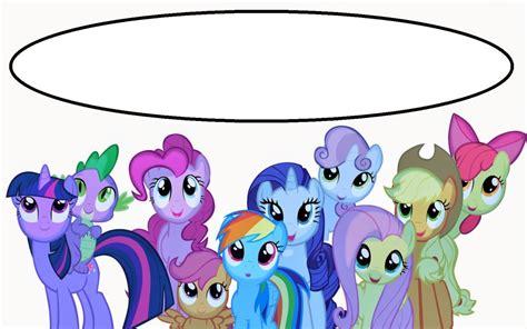 pony  printable invitation templates
