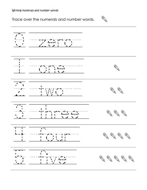 7 best images of free printable kindergarten writing words