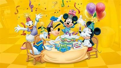 Birthday Happy Disney Mickey Desktop Cake Candles