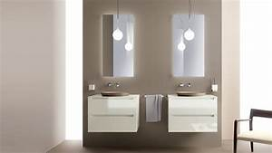 salle de bain italienne 3 designs exquis par scavolini With salle de bain design avec lavabo suspendu salle de bain