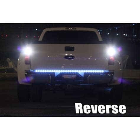 funny led truck light bar 60 inch full size truck red led tailgate light bar with