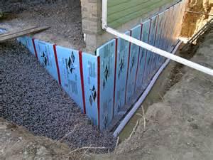 Basement Foundation Wall Waterproofing