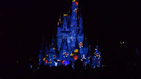 disney world light show cinderella 39 s castle light show at disney world magic