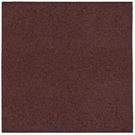 rubber paver tiles home depot envirotile 18 in x 18 in terra cotta rubber flat profile