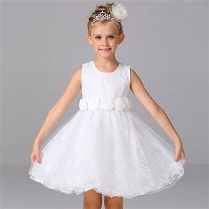 white dresses for girls 2017 brand tulle lace infant With infant dresses for weddings