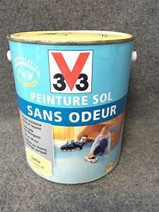 revgercom peinture sol carrele v33 idee inspirante With peinture sans odeur castorama