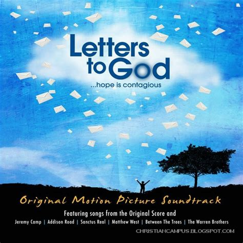 letter soundtrack cover letters to god official motion picture soundtrack 2010