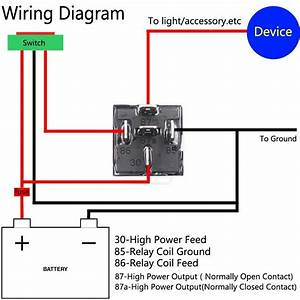 12v Relay Wiring Diagram