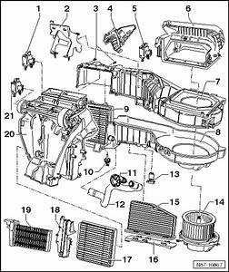 Volkswagen Workshop Manuals  U0026gt  Golf Mk6  U0026gt  Heating  Ventilation  Air Conditioning System  U0026gt  Heating