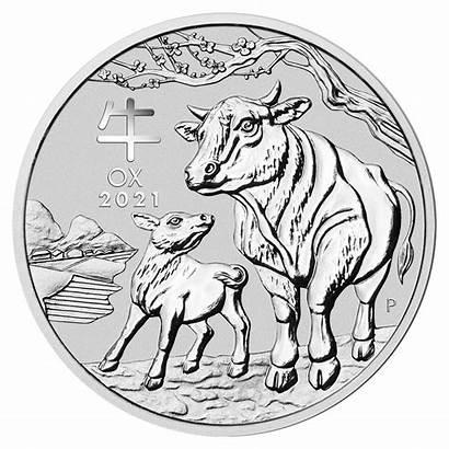Ox Lunar Coin 1oz Coins