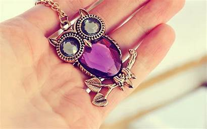 Jewelry Owls Wallpapers Macro Jewellery Abstract Hands