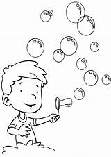 Bubble Coloring sketch template