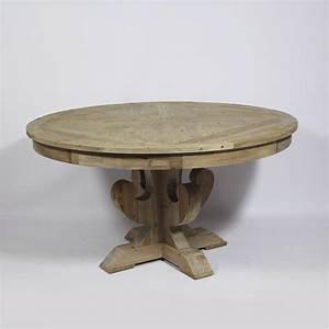 Table Ronde Extensible Bois : table ronde bois extensible beau table ronde avec allonges ~ Teatrodelosmanantiales.com Idées de Décoration