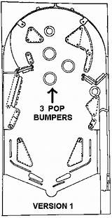 Pinball Machine Bally Template Freedom Parts Coloring Sketch Schematics Additional sketch template
