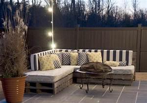 Terrassenmöbel Aus Paletten : balkonm bel terrassenm bel aus paletten anleitungen ~ Michelbontemps.com Haus und Dekorationen
