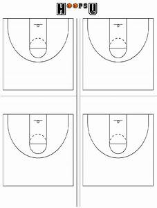 33 Half Court Basketball Diagram