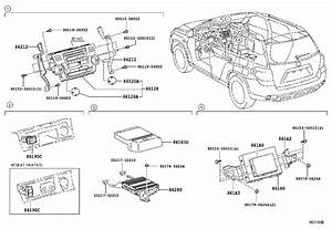 Toyota Highlander Radio Amplifier  Amplifier  Stereo