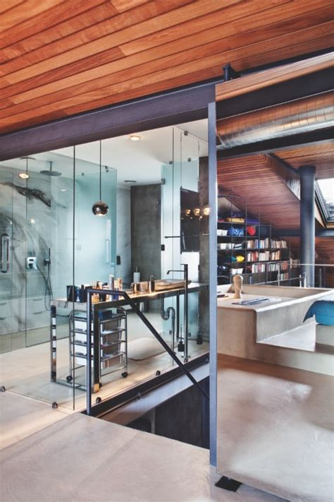 Karakoy Loft Uses Rich Wood Features And Creative Industrial Elements karakoy loft uses rich wood features and creative