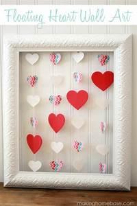Deco Murale Vintage : comment fabriquer une jolie d co murale pour la st valentin ~ Melissatoandfro.com Idées de Décoration