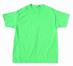 Neon Green Bright Colorful Adult Uni T Shirt Tee Shirt