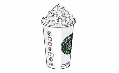 Coloring Latte Pumpkin Spice Starbucks Emoji Drinks