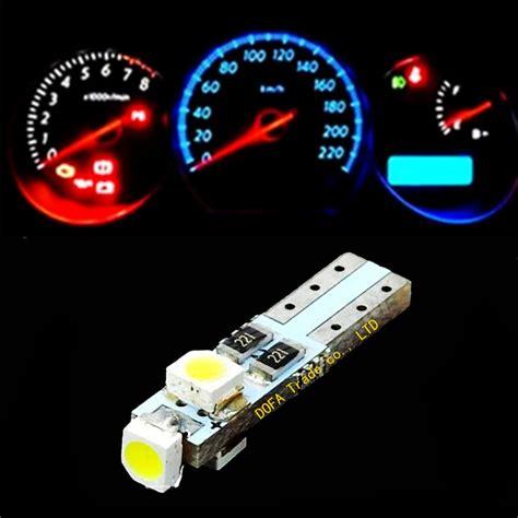 instrument panel lights t5 3 led 3 smd neo wedge smd dashboard instrument cluster