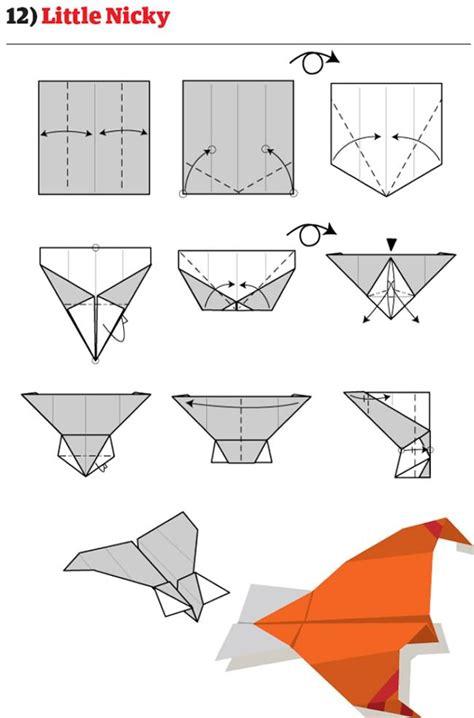 comment faire un avion en papier 12 pour plier des avions en papier originaux