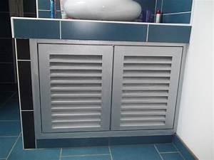 Porte Meuble Salle De Bain : porte placard salle de bain ~ Teatrodelosmanantiales.com Idées de Décoration
