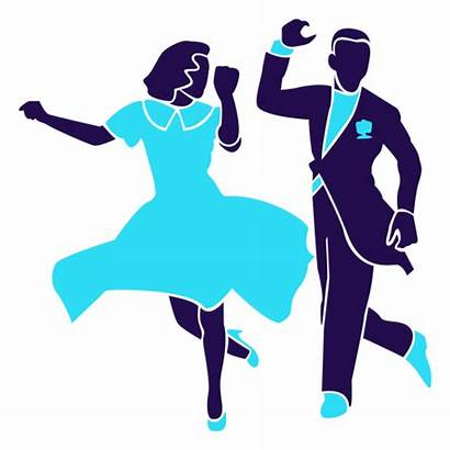 Dance Silhouette Pose Ballroom Duo Baile Silueta