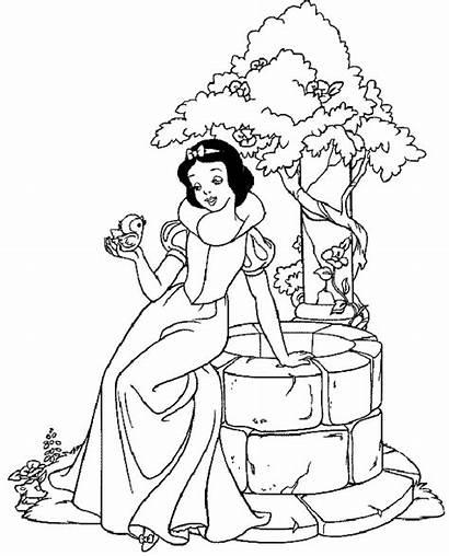 Coloring Princess Page2 Printable Advertisement