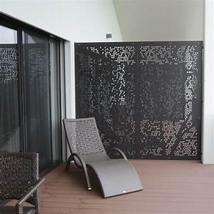 cloison brise vue charmant haus decorating With salle de bain design avec brise vue extérieur horizontal décoré