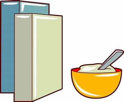 Cereal Clipart Clip Box Breakfast Bowl Cliparts