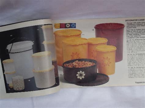 vintage tupperware catalog  pages retro