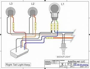 05 09 Mustang Sequential Taillights Wiring Diagram