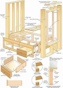 Construct a Cozy Homemade Built-in-Bed - DIY Mattress
