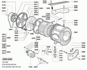 Lg Washing Machine Parts Diagram