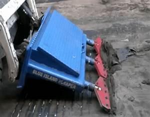 Blue Island Scraper Floor Scraping Skid Steer Attachment